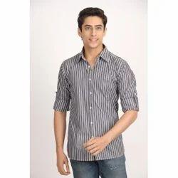 Ghpc Striped Grey And White Shirt