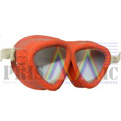 Female Rubber Safety Goggles