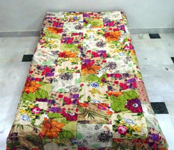 Kantha Patchwork Bed Cover