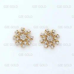 e36626184 Classic Diamond Earring Tops/Studs - Jewels Of Jaipur, Jaipur | ID ...