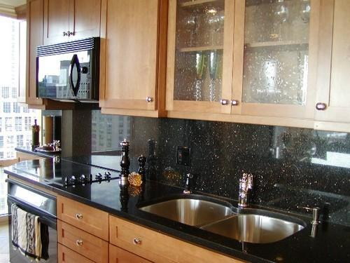 Kitchen Counter Tops Of Black Galaxy Granite Raj Exim Madurai