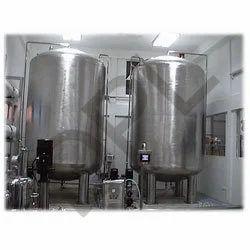 S.S.Water Storage Tanks