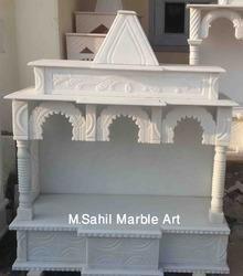 White Marble Home Mandir