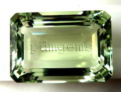 Green Amethyst Gemstone For Pendant