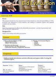 Bid Evaluation Services in India