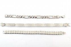 Silver Elongated Bracelet