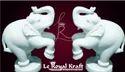 White Elephant Statues