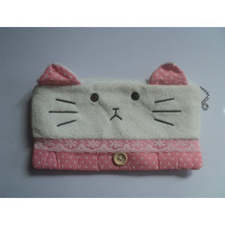 Pencil Soft Pouch Kitty