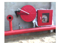 Outdoor Fire Hydrant System for Turnkey Project Work