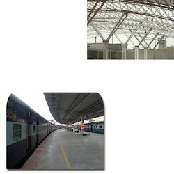 Infrastructural Structural for Railways Platforms
