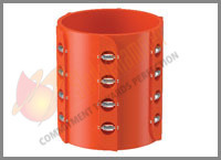 Low Drag Roller Centralizer
