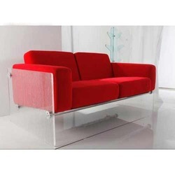 2 Seater Two Seater Acrylic Sofa