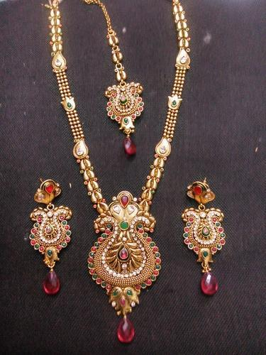Antique Long Haar Set At Rs 1500 Piece