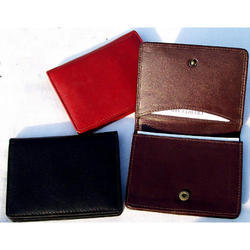Gusseted Pocker Business Card Case