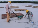 TPO and PVC Waterproofing Membranes