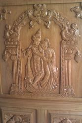 SPL Hand Carved Temple Door VU 910