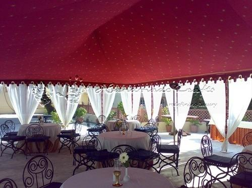 Outdoor Dining Tents & Outdoor Dining Tents | Handmade Tents | Exporter in Ajit Colony ...
