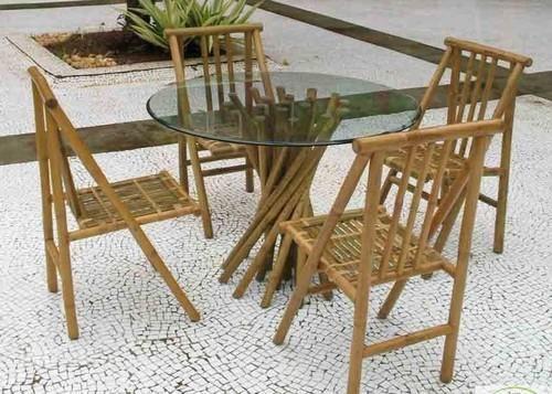 Outdoor Bamboo Furniture - Bamboo Bar Counter Exporter from Mumbai