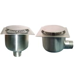 Single and Double Seal Stainless Steel Drain Trap