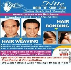 Nile hair weaving hair bonding centre bengaluru service hair replacement pmusecretfo Image collections