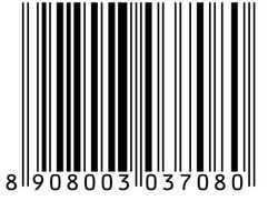 Black And White And Multicoloured Barcode Sticker Label Printing