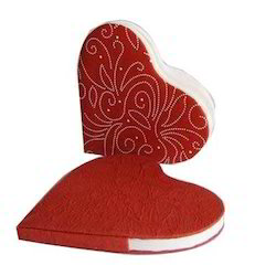 Heart Shape Paper Notebooks