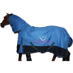 Rain Combo Navy/B.Baby 1200D Horse Rugs