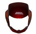 Cd Dlx Red Head Light Visor