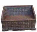 Old Pitara Sofa (with Storage Box)
