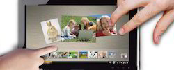 Multi Point Touch Screen