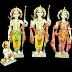 Temple Marble Ram Darbar Statue