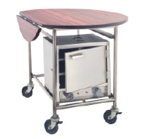 Room Service Trolley with Hot Case