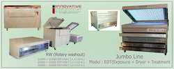 Photopolymer Plate Making Jumbo Line Machine