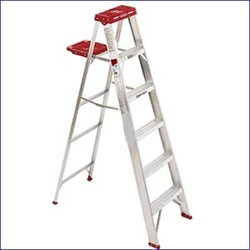 Climbing Aluminum Ladders
