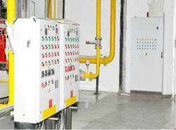 Energy Pack Wall And Ground Boiler Control Panel, For Industrial
