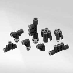 Techno Polymer Push in Fittings