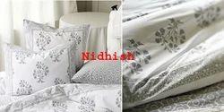 Cotton Block Printed Duvet Cover