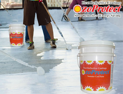 Summer Cool Paint OzoProtect KR, कूल रूफ पेंट