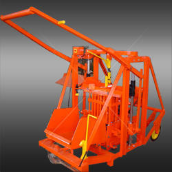 430G manval movable concrete block machine