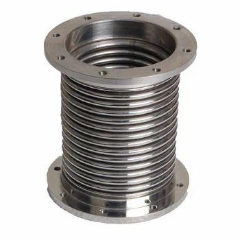 Metallic Bellow Metallic Flexible Connector With Union