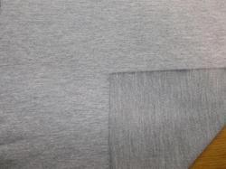 Grey Cotton French Terry Fabric