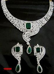 Classical CZ Necklace Set