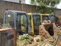 Hyundai Robex R-210  Excavator Operator Cabin Assembly