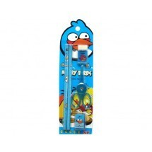 Angry Birds School Stationery Set 5 In 1