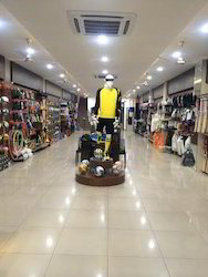 Sports Showroom Designing