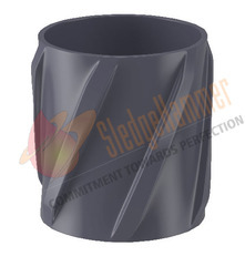 Aluminum Straight Vane Solid Rigid Centralizer