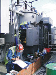 High Voltage Substation Testing