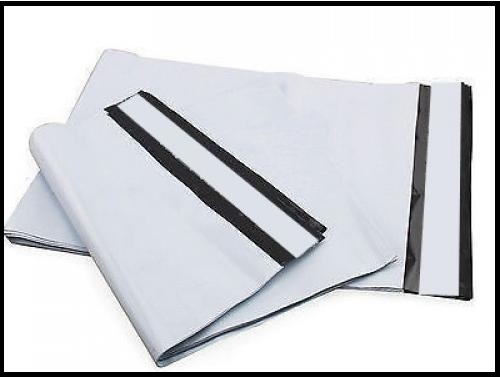 White Exterior With Black Interior Tamper Proof Plastic Courier Bag Envelopes, Size: 5 Inches X 7 Inches