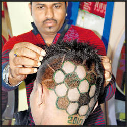 Male And Female Permanent Hair Weaving & Hair Bonding