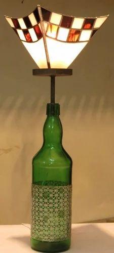 Bottle craft wine bottle table light manufacturer from delhi aloadofball Choice Image